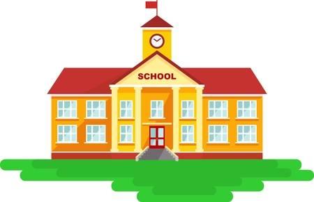 Cartoon School Stock Photos And Images.