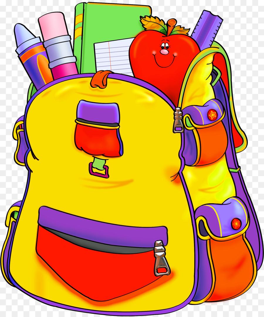 School Supplies Cartoon png download.