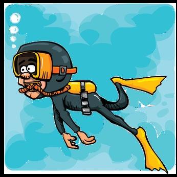 Free Scuba Diver Cartoon, Download Free Clip Art, Free Clip.