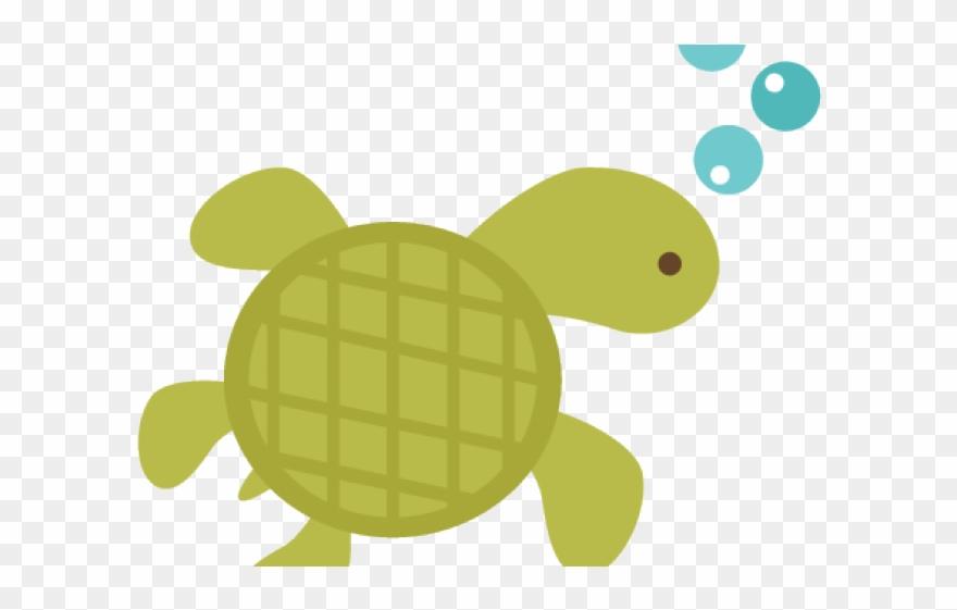 Sea Turtle Clipart Underwater.