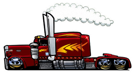 Free Cartoon Semi Trucks, Download Free Clip Art, Free Clip.
