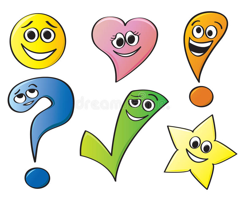 Smiley Shapes Stock Illustrations.