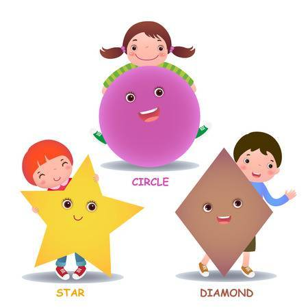 Cartoon shapes clipart 2 » Clipart Portal.