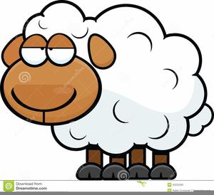 Animated Lamb Clipart.