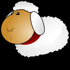 Sad Sheep Cliparts.