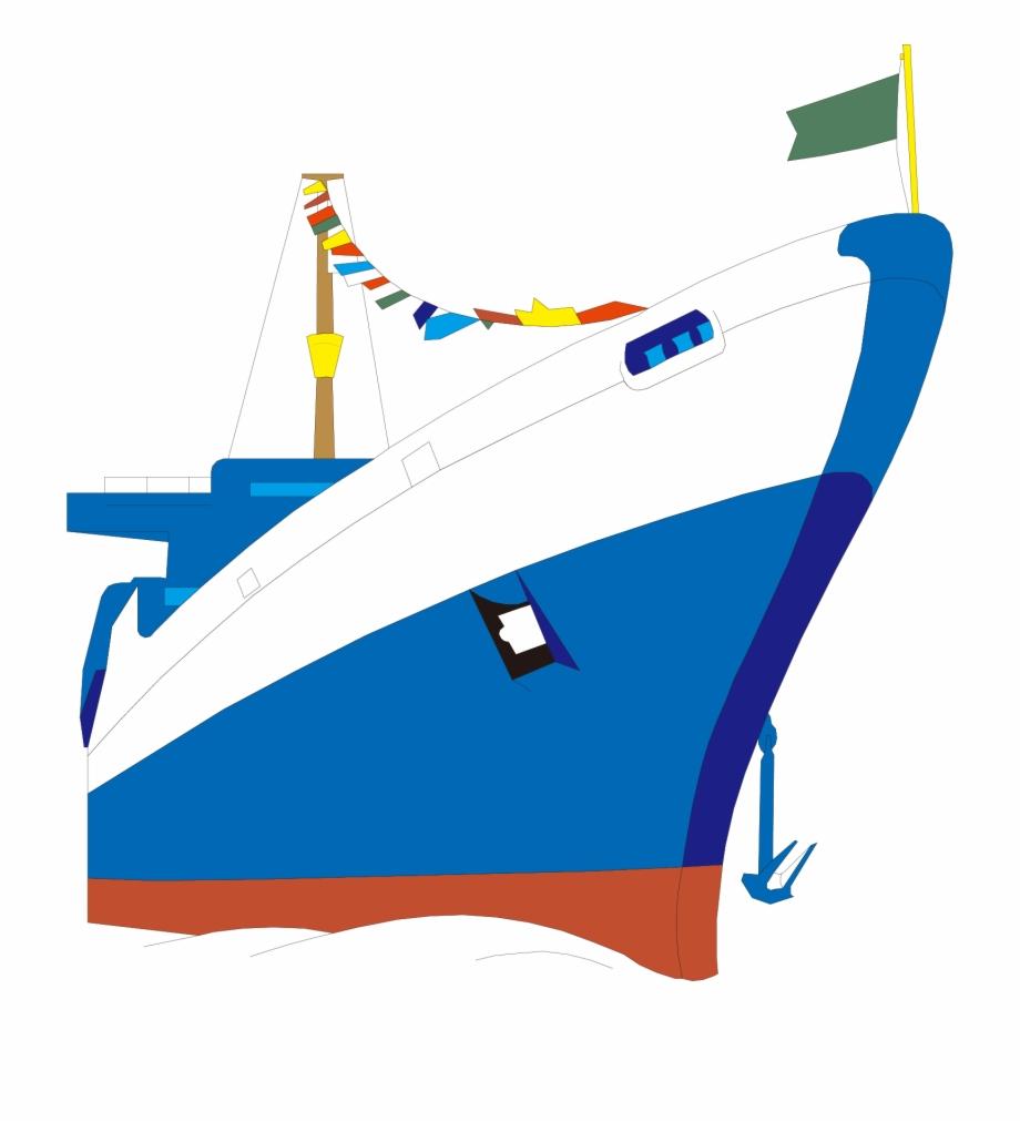 Animation Cruise Ship Boat.