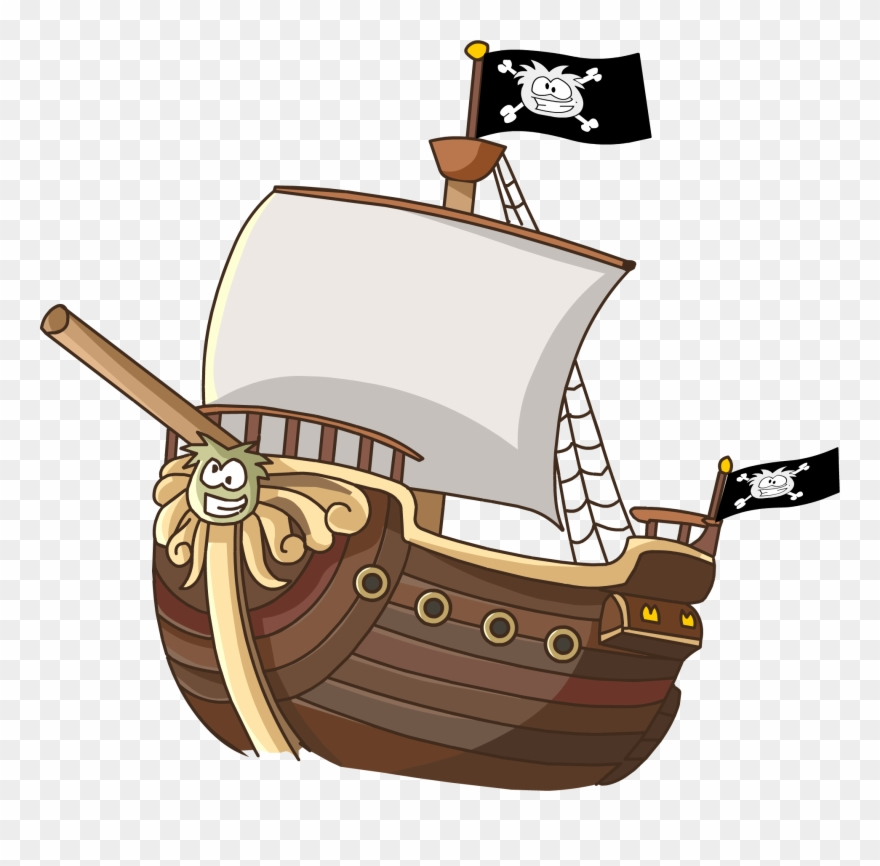 Sailing Ship Clipart Animated.