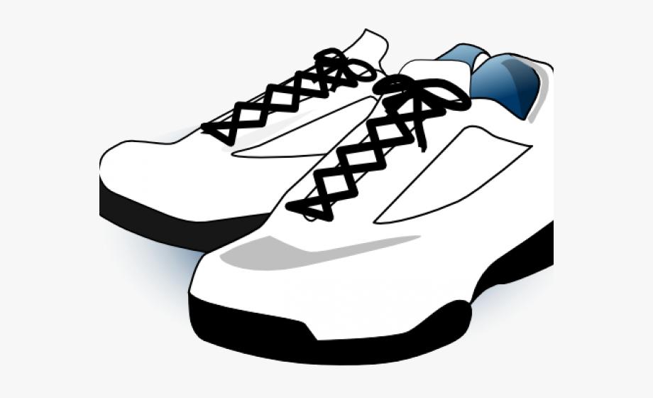 Gym Shoes Clipart School Shoe.