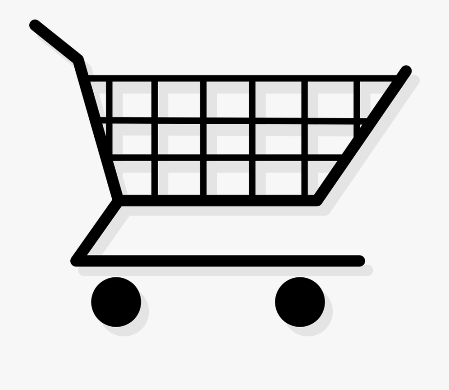 Trolley Clipart Grocery Cart.