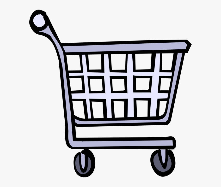 Cart Vector Grocery.