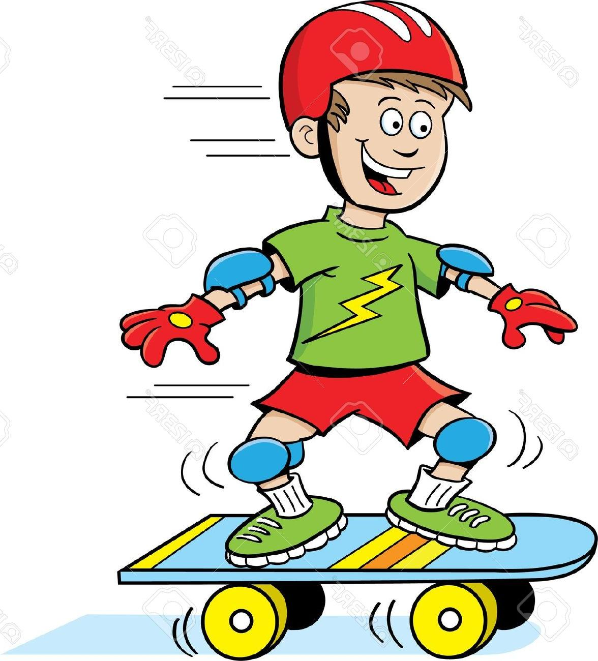 Top Cartoon Skateboard Clip Art Pictures » Free Vector Art.