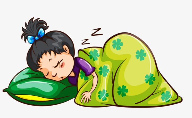 Sleeping Child, Child, Go To Bed, Cartoon PNG Transparent.