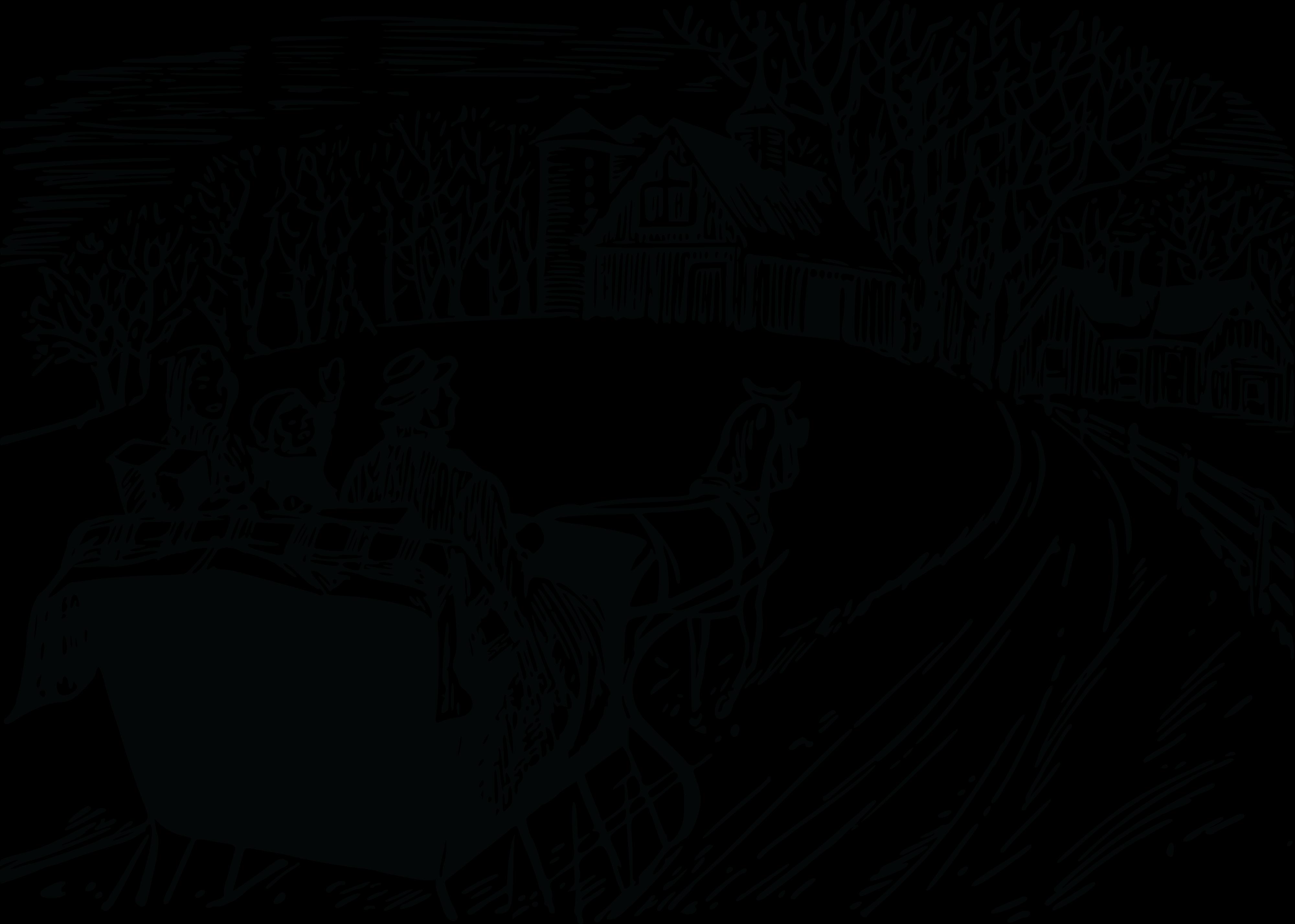 Sleigh Ride Clipart.