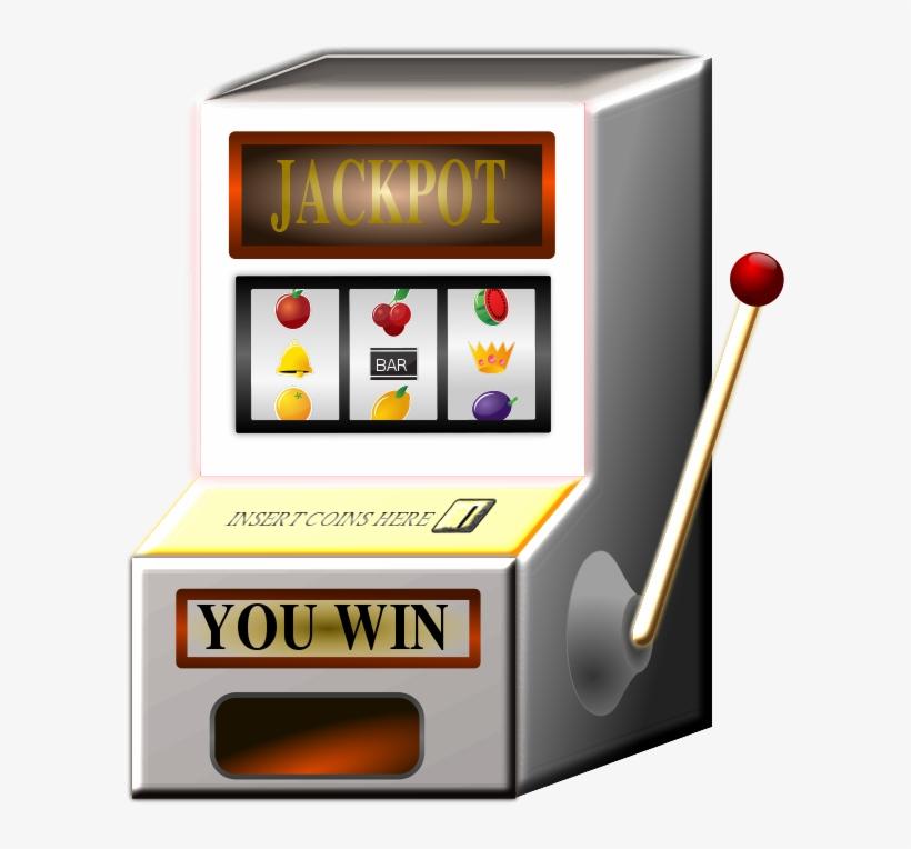 Clip Art Black And White Download Animated Slot Machine.