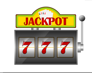 Animated Slot Machines Clipart.