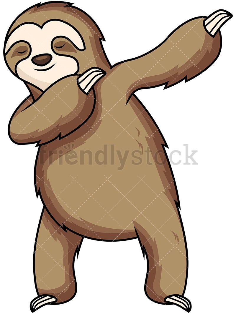 Dabbing Sloth.