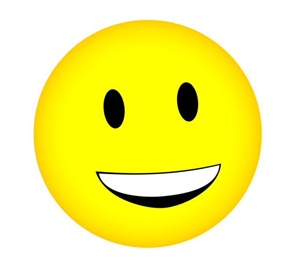 Animated Smiley Face Clip Art N6 free image.
