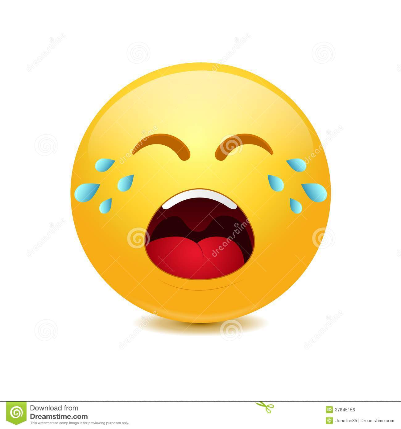 69+ Crying Face Clip Art.