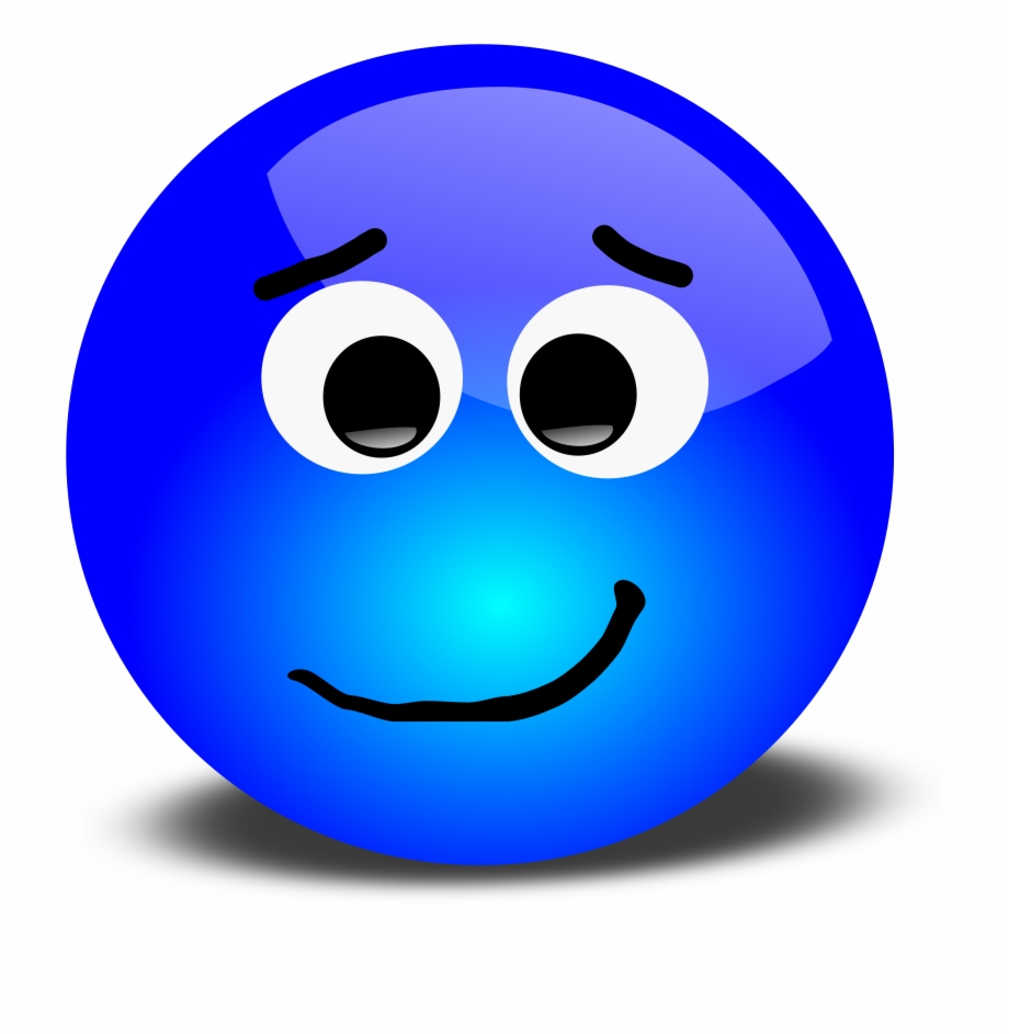 Animated Blue Smiley Face Free PNG Images & Clipart Download #100826.