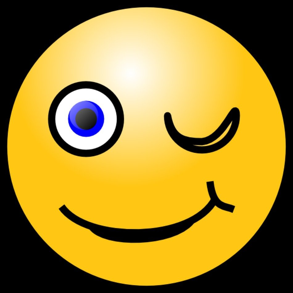Animated Smiley Face Clip Art free image.
