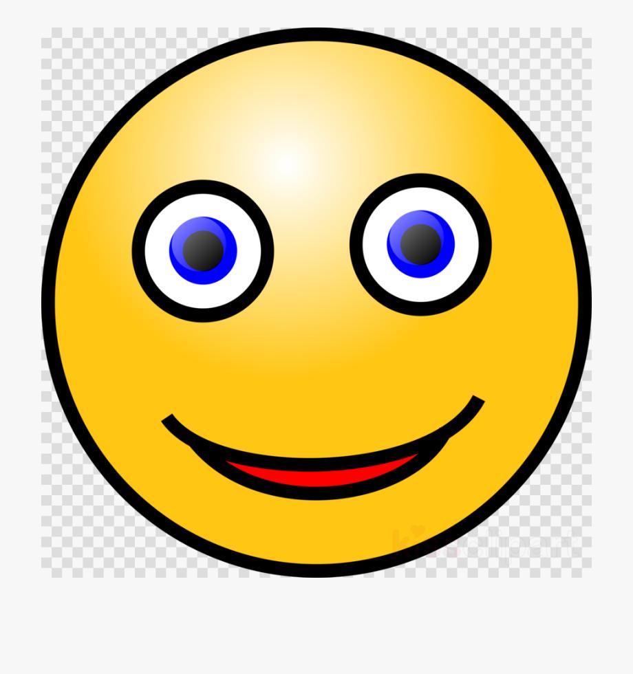 Smiley Face Blue Eyes Clipart Smiley Emoticon Clip.