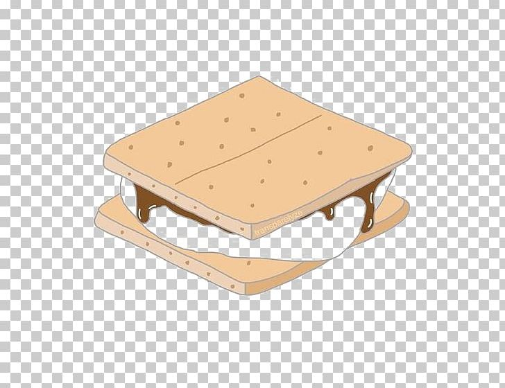 Smore NCT Cookie Drawing PNG, Clipart, Angle, Beige.