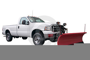 Animated Snow Plow Clipart.