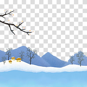 Snowman Christmas House Snowflake, Children painting snow.