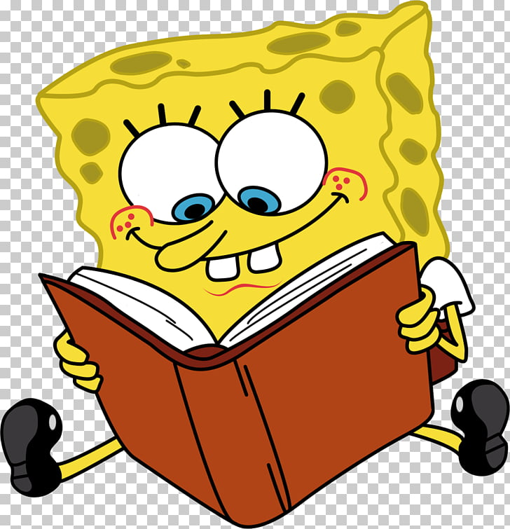 Animation Cartoon , Cartoon Characters Spongebob Reading.