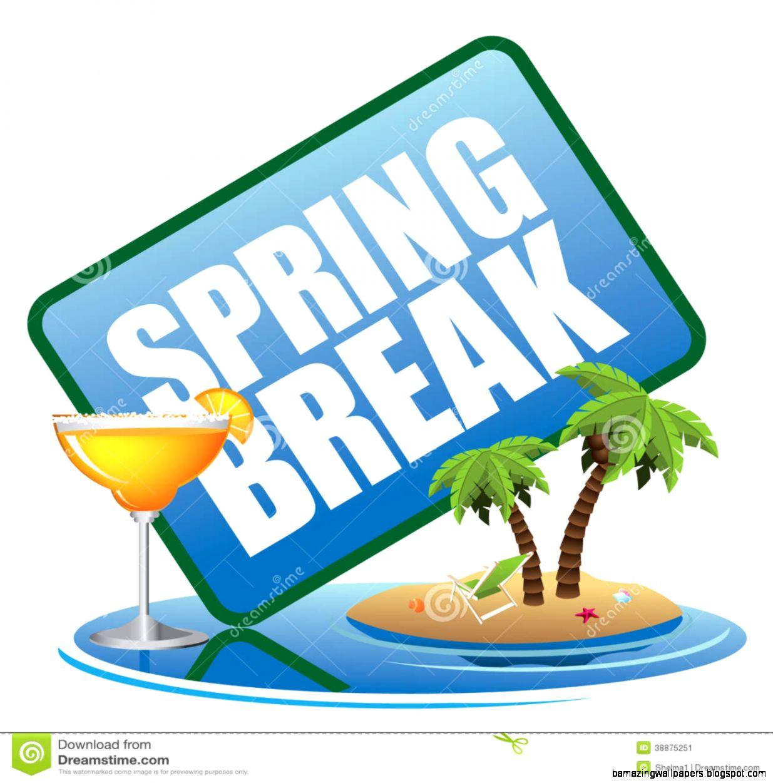 Spring Break Animated.