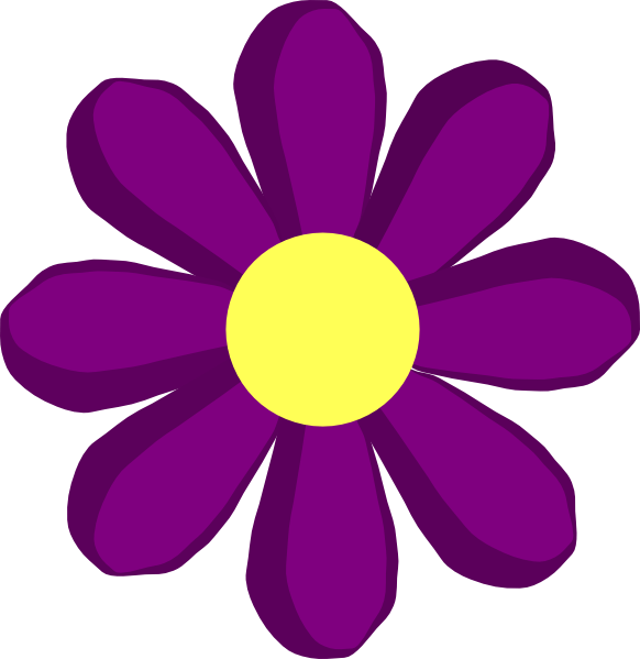 Animated Flower Cliparts.