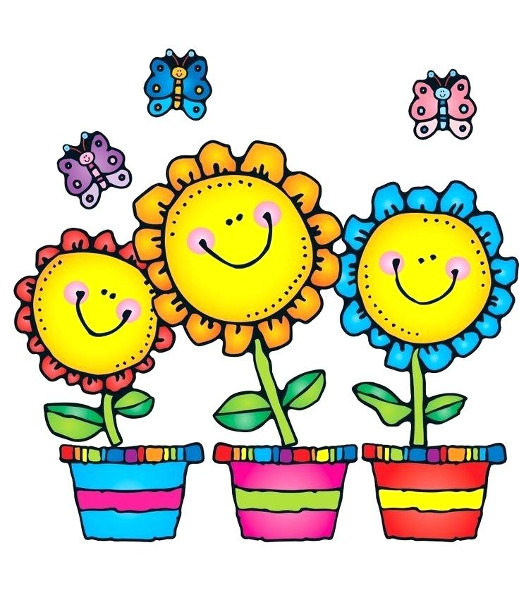 cartoon spring flowers pictures.