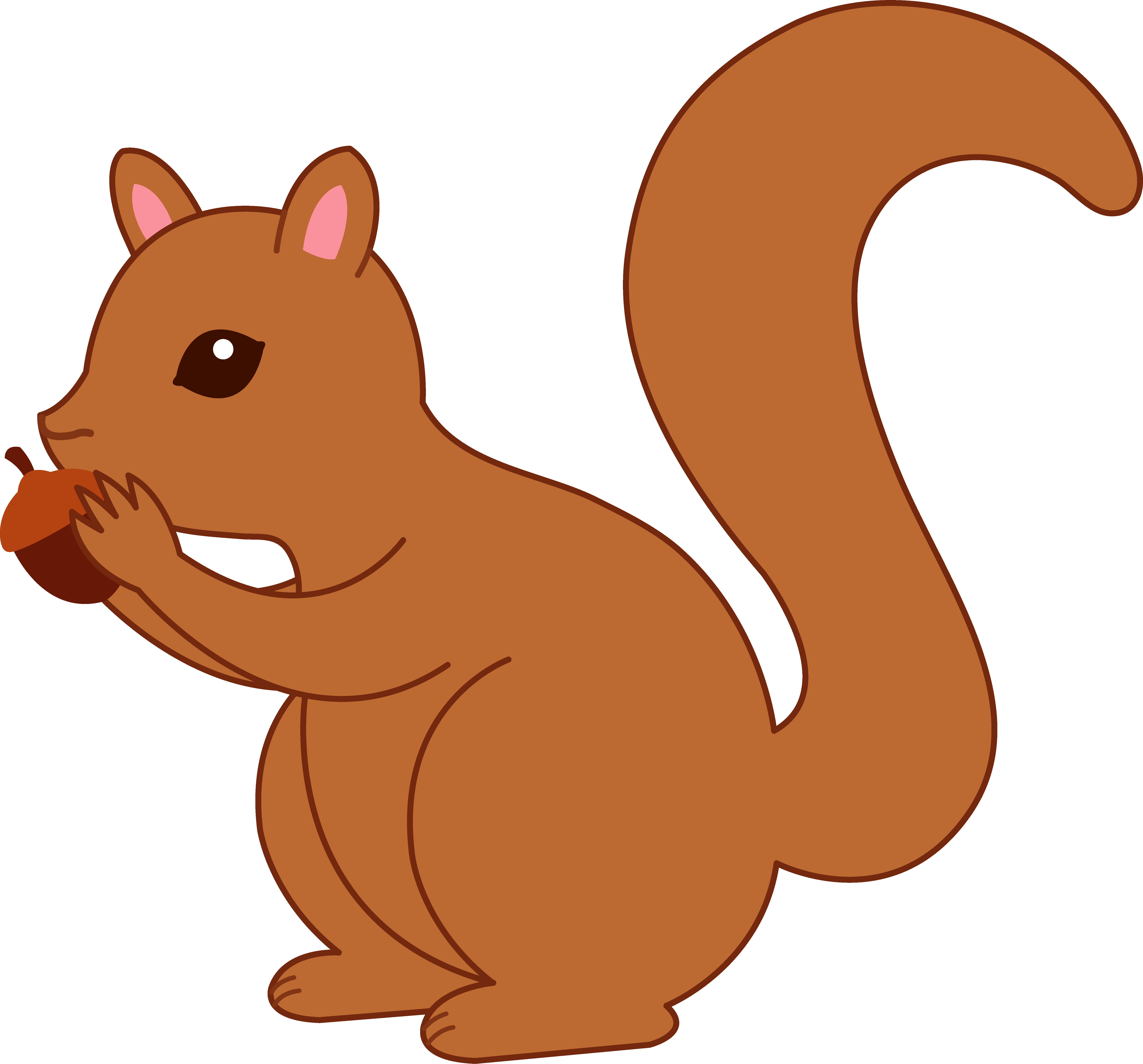 Animated squirrel clipart 4 » Clipart Portal.