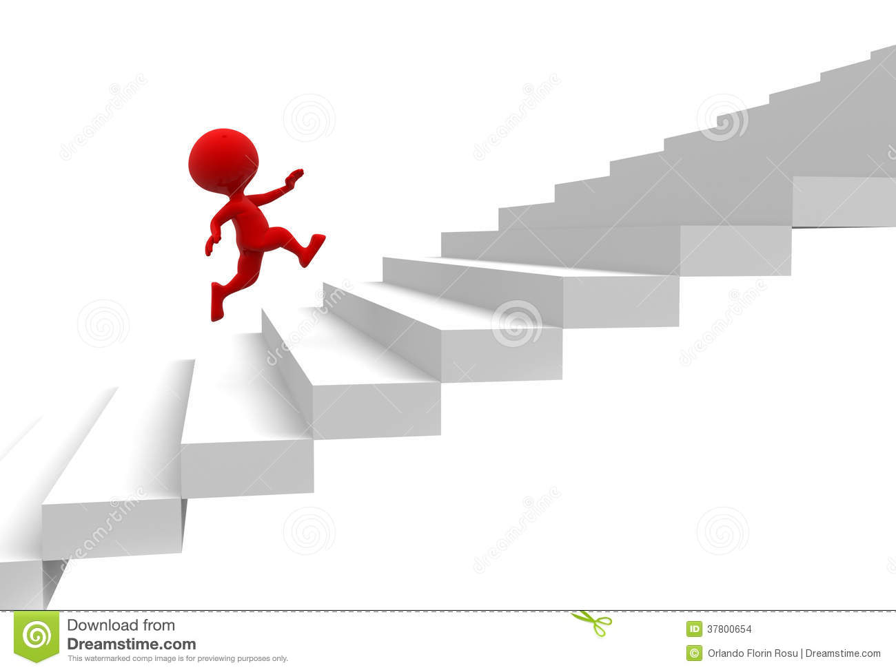 Showing post & media for Cartoon people climbing stairs.