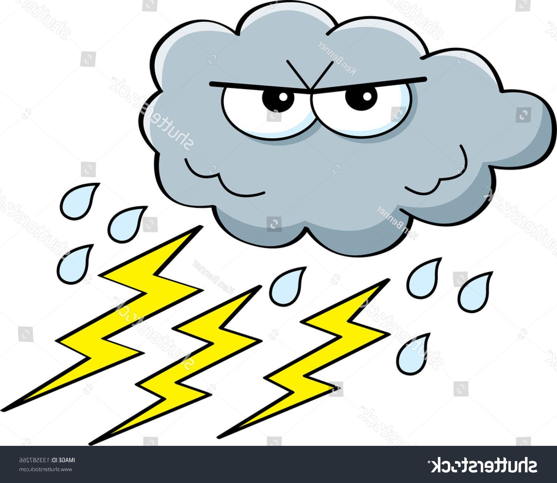 Best Free Cartoon Thunderstorm Clip Art File Free » Free.