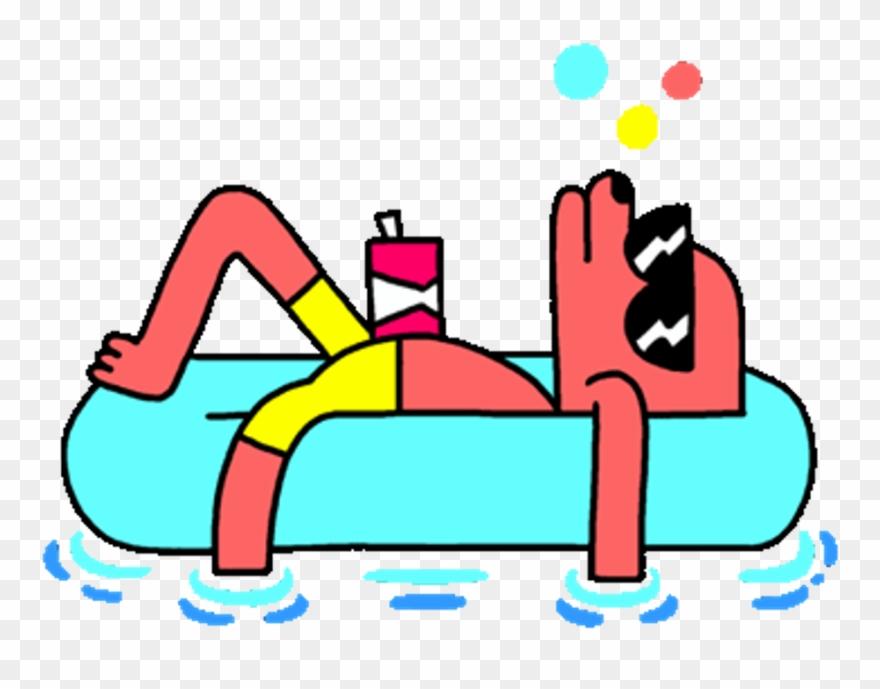 Doggo Summer Pool Vibes Kawaii Splash.