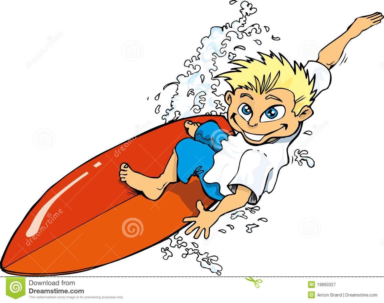 Surfing clipart surfer cartoon, Surfing surfer cartoon.