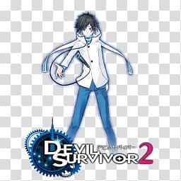 Devil Survivor The Animation Folder Icon, Devil Survivor.