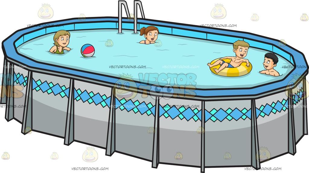 Swimming Pool Cartoon Images.