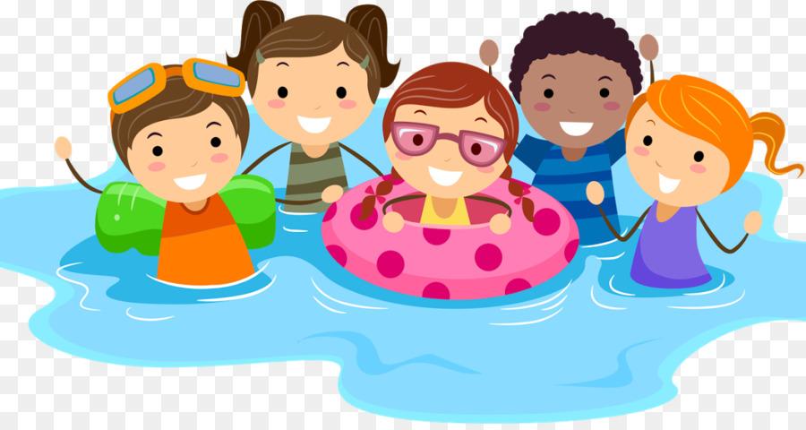 Swimming Cartoon png download.