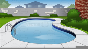 Animated Swimming Pool Clipart.