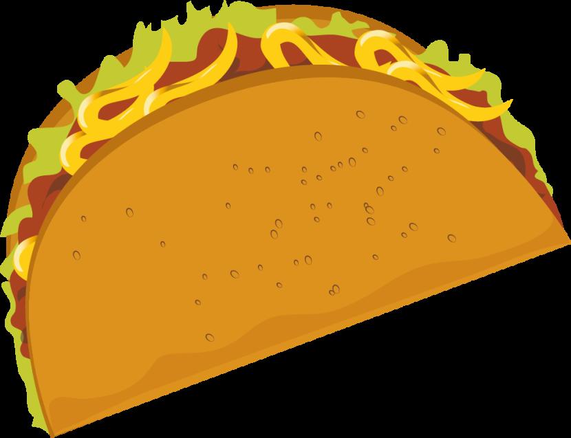 Taco clipart 4.