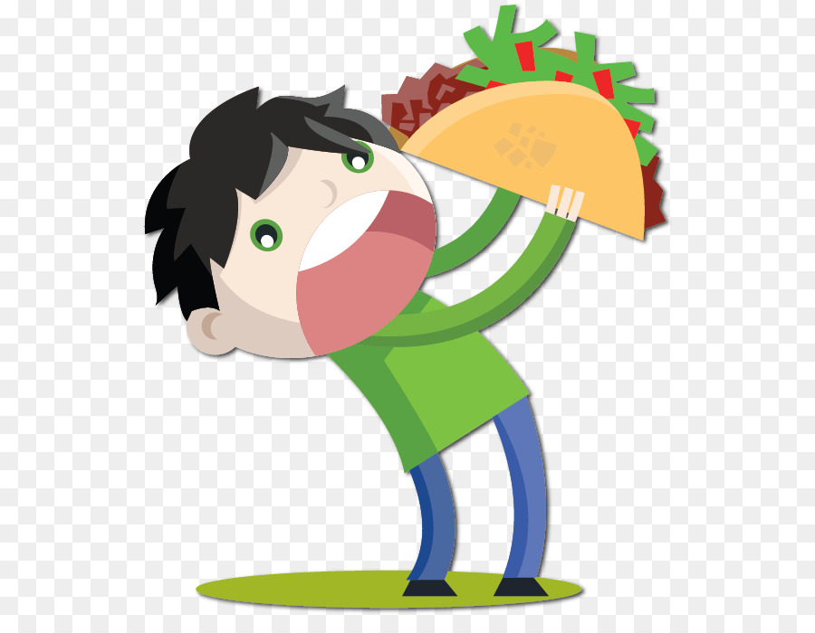 Taco Cartoon.