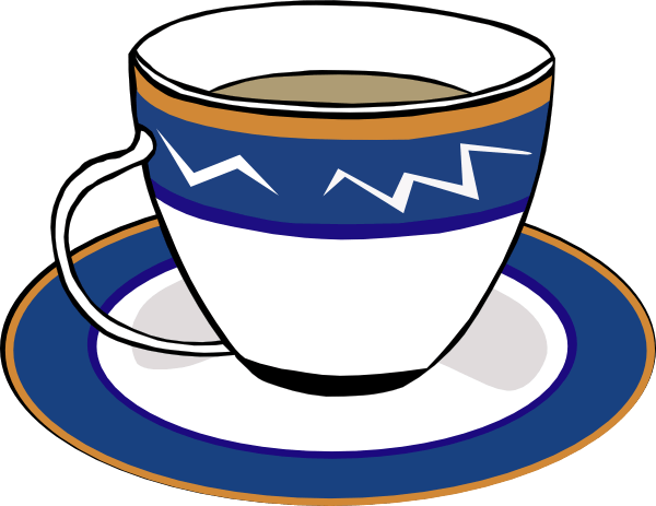 Animated Moving Tea Cup Clipart.