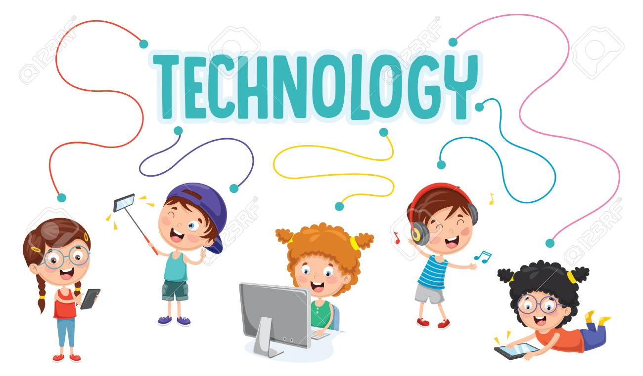 Technology Animated Cliparts.