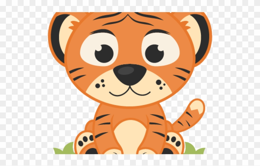 Baby Tiger Clipart Png Transparent Png (#958642).