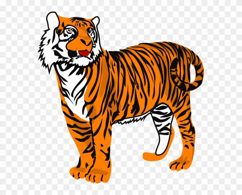 Animated Tiger Clip Art N4.