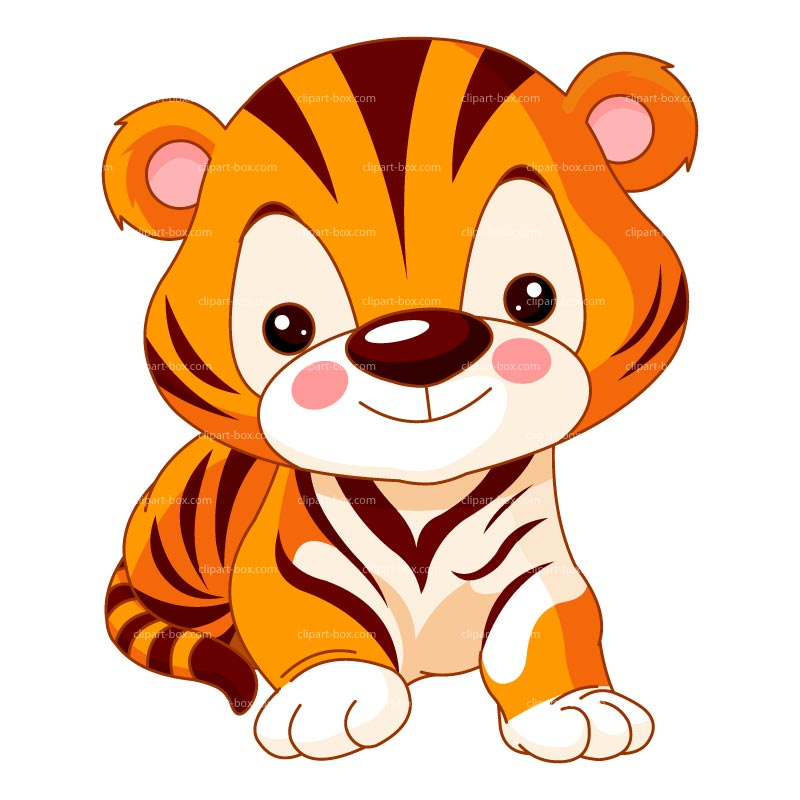 Baby shower tiger clipart clipartxtras.