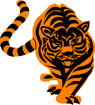 Animated Tiger Clip Art.
