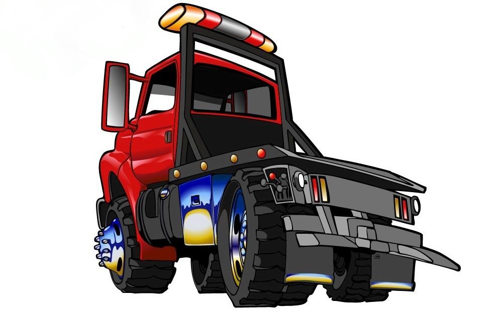 Free Cartoon Tow Truck, Download Free Clip Art, Free Clip.
